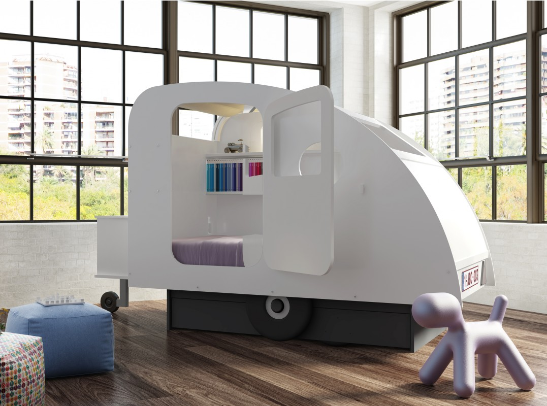 caravan bed mathy by bols. Black Bedroom Furniture Sets. Home Design Ideas