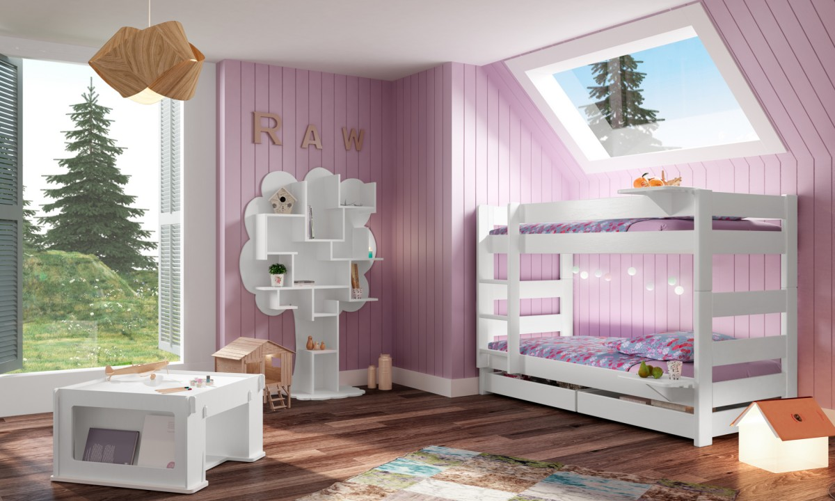Dominique 149 Bunk Bed Separable Mathy By Bols