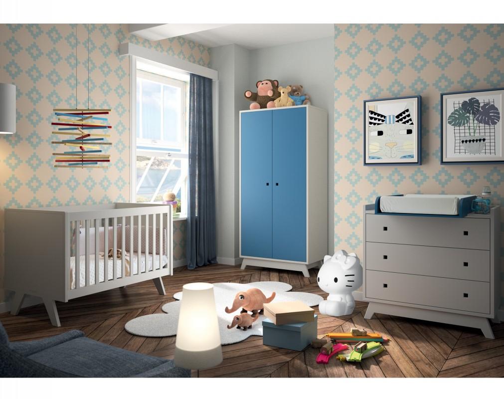 armoire 2 portes madavin mathy by bols. Black Bedroom Furniture Sets. Home Design Ideas