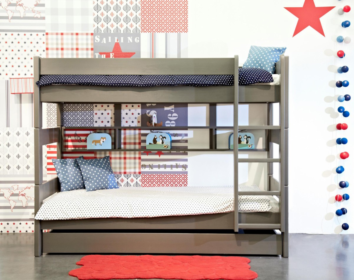 Dominique 166 Bunk Bed Separable Mathy By Bols