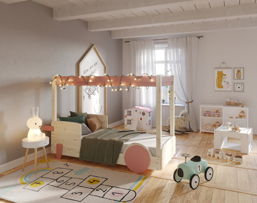 lit baldaquin discovery 1 mathy by bols. Black Bedroom Furniture Sets. Home Design Ideas