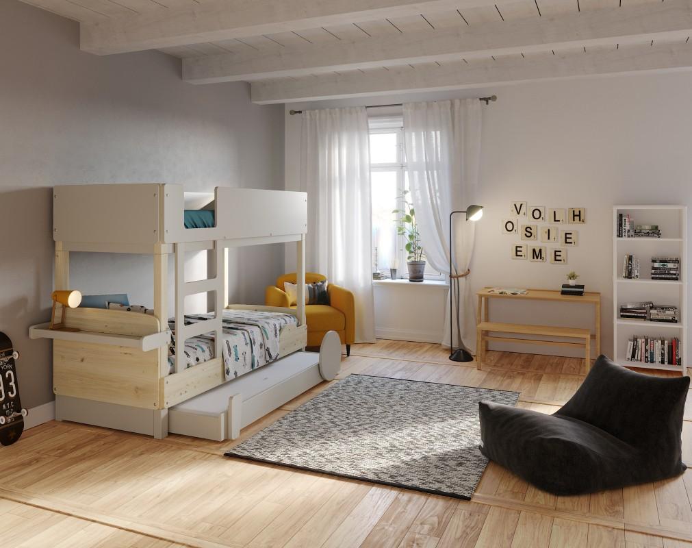 lit superpose tiroir lit discovery 1 mathy by bols. Black Bedroom Furniture Sets. Home Design Ideas